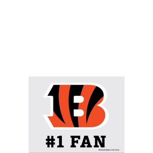 Cincinnati Bengals #1 Fan Decal