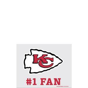 Kansas City Chiefs #1 Fan Decal