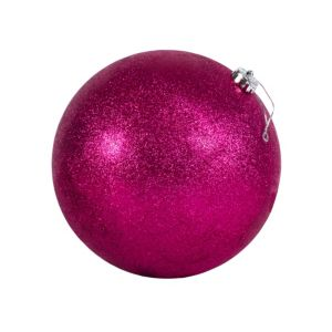 Pink Ball Christmas Ornament