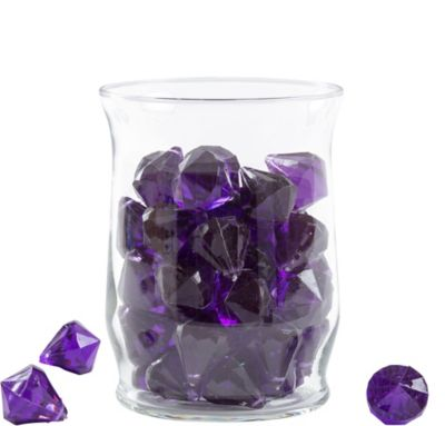 Amethyst Diamond Scatter 7oz