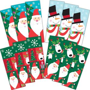 Christmas Bookmarks 12ct
