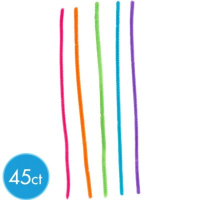 Bright Pipe Cleaners 45ct