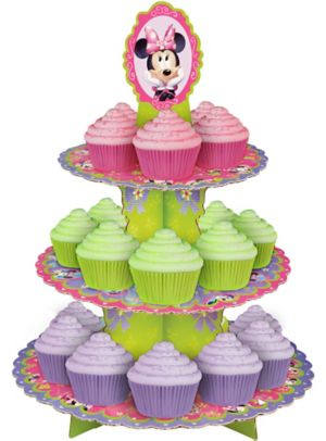 Wilton Minnie Mouse Cupcake Stand 12in X 16 1 2in Party City