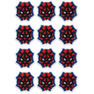 Ultimate Spider-Man Icing Decorations 12ct