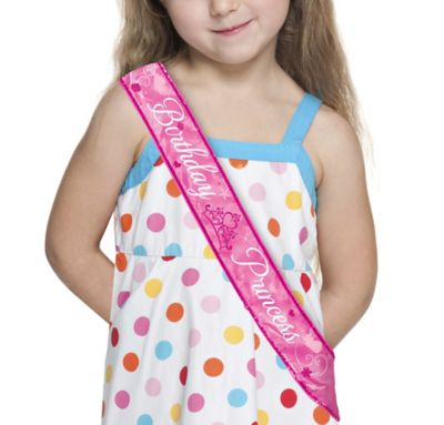 Disney Princess Birthday Sash 44in