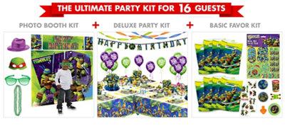 Teenage Mutant Ninja Turtles Party Supplies Ultimate Party Kit