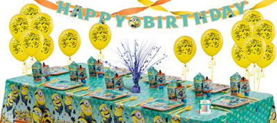 Despicable Me Party Supplies Super Party Kit for 8 Guests