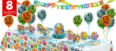 Bubble Guppies Party Supplies Super Party Kit