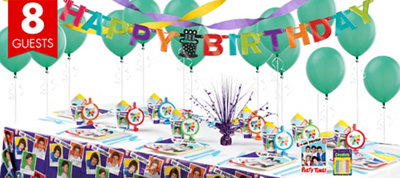 One Direction Party Supplies Super Party Kit