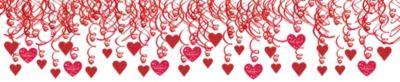 Valentine's Day Swirl Decorations 30ct