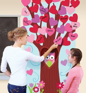 Valentine's Day Tree Activity Kit 31pc