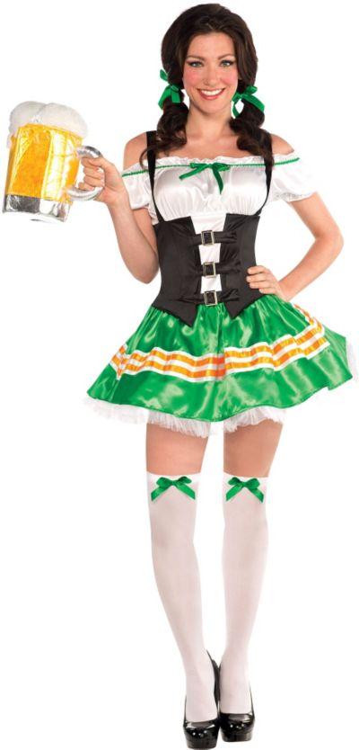 Kiss Me Beer Maid Costume