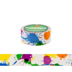Paint Splatter Duckling Tape