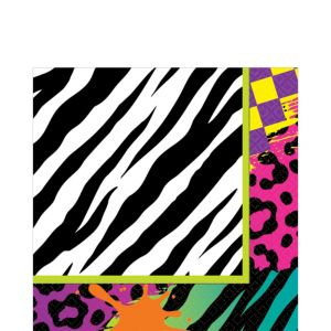 Totally 80s Lunch Napkins 16ct