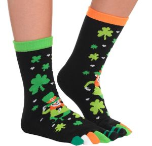Leprechaun Toe Socks