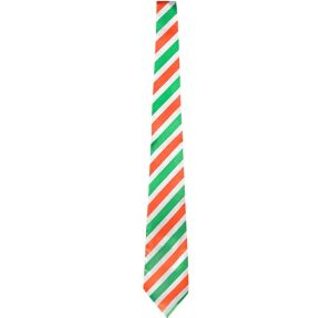 Irish Flag Striped Tie
