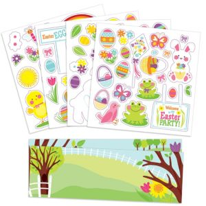 Easter Stickers Activity Kit