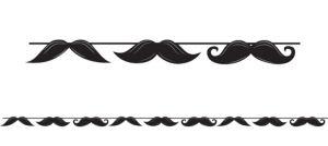 Moustache Banner 5ft