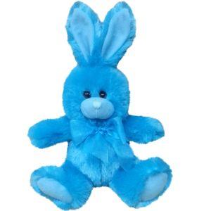 Caribbean Blue Easter Bunny Plush