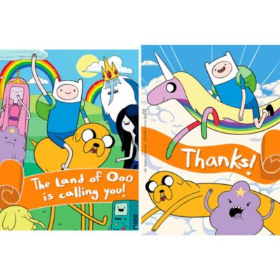 Adventure Time Inv/TY  Postcards 16ct