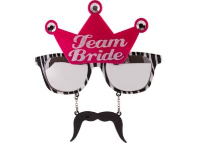 Team Bride Sun-Stache
