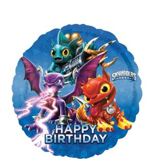 Happy Birthday Skylanders Balloon