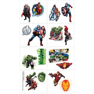 Avengers Tattoos 1 Sheet