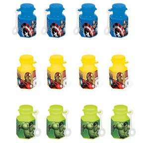 Avengers Mini Bubbles 12ct