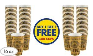 BOGO Classic Roast Paper Coffee Cups 40ct