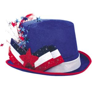 Fancy Patriotic Top Hat