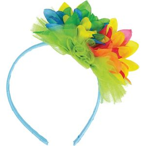 Bright Hibiscus Headband