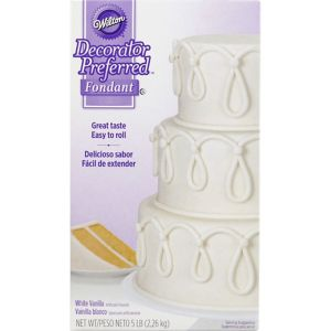 Wilton White Rolled Fondant
