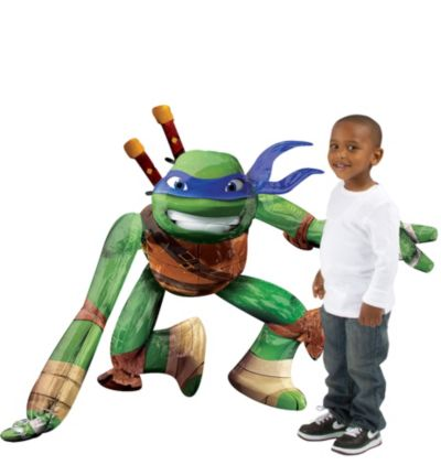 Giant Gliding Teenage Mutant Ninja Turtles Balloon 44in