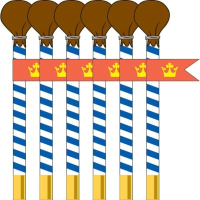 Mike the Knight Pencils 6ct