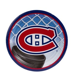 Montreal Canadiens Dessert Plates 8ct