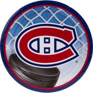 Montreal Canadiens Lunch Plates 8ct