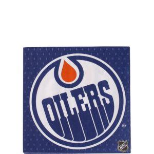 Edmonton Oilers Beverage Napkins 16ct