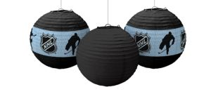 NHL Paper Lanterns 3ct
