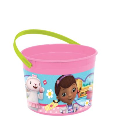 Doc McStuffins Favor Container 4in