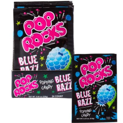 Blue Razz Pop Rocks 24ct