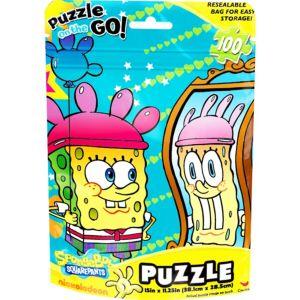 SpongeBob Puzzle Bag 100pc