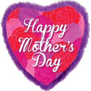 Foil Boa Mother's Day Balloon 32in