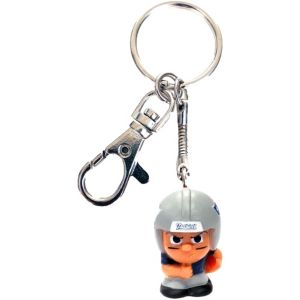 TeenyMates Clip-On New England Patriots Keychain