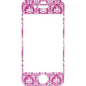 Pink Damask Screen Protector for iPhone 4/4s