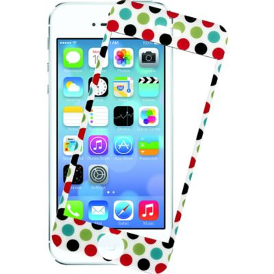 Polka Dot Damask Screen Protector for iPhone 5/5s