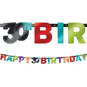 Celebrate 30th Birthday Banner