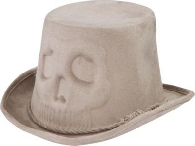 Skull Coachman Hat