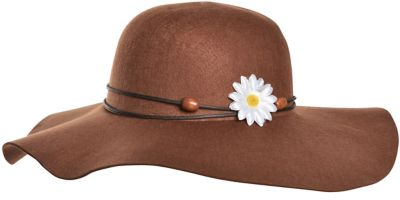 Brown Festival Floppy Hat