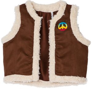 Festival Faux Shearling Vest