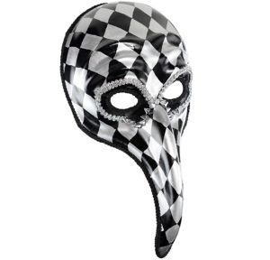 Harlequin Long Nose Mask